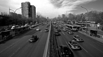 Traffic in Beijing, China
