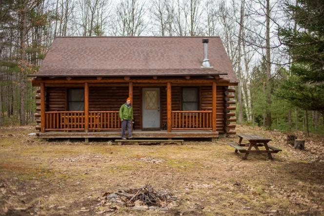 Cabin near Cadillac, Michigan