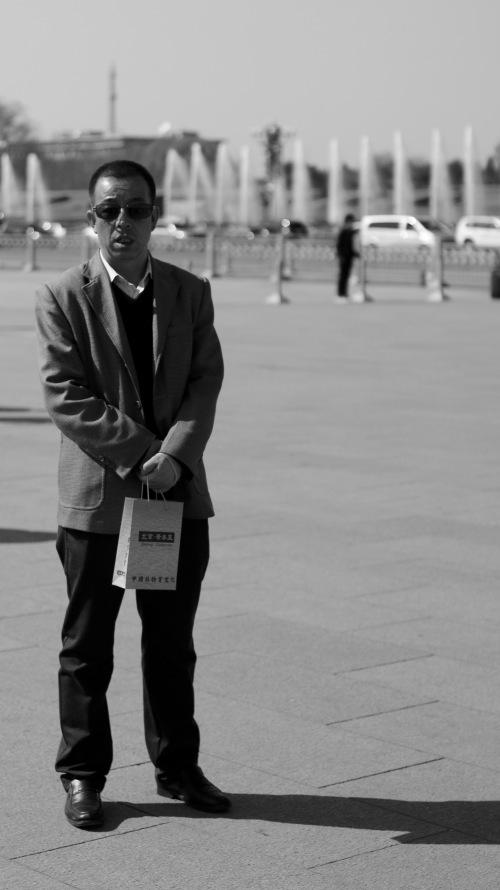 An interesting man in Beijing, China