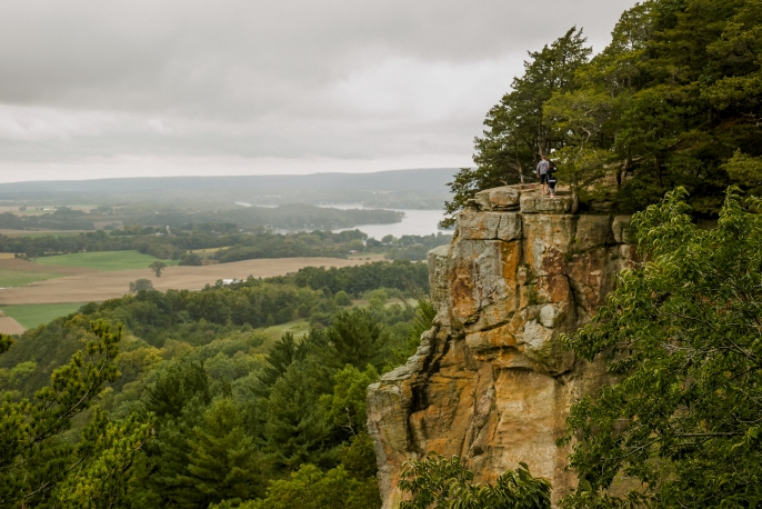 Gibraltar Rock, Wisconsin